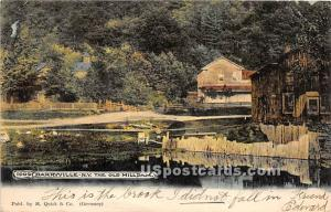 Old Mill Dam Barryville NY 1906