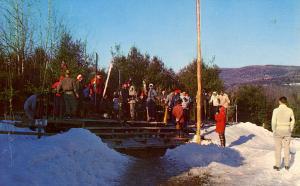 MA - Lenox. Eastover Resort. Skiing