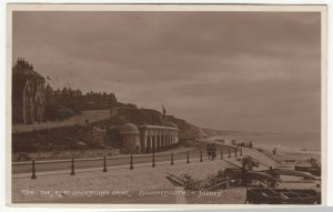 Dorset; Bournemouth, East Undercliff Drive RP PPC, 1911, To A Thompson, Dudley
