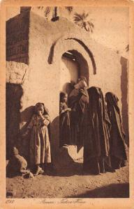 Asswan Aswan Egypt Native Women Antique Postcard J76346