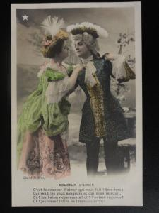 French Romance: Douceur d'aimer / Pub by Stebbing Series 776 c1905 Dandies
