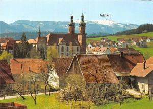 St Peter Schwarzwald mit Feldberg Kirche Church Mountain Panorama