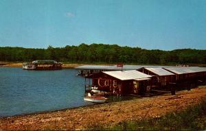 Missouri Table Rock Lake In The Ozarks Highway 13 Boat Dock and Holiday...