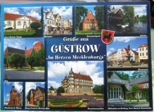 Germany Grusse aus Gustrow in Herzen Mecklenburgs - unposted