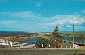 Canada Scenic View Of Cap Chat Gaspe Nord Quebec  1974