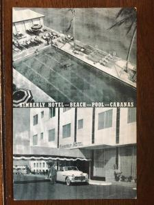 Kimberly Hotel, Oceanfront, Collins Ave. & 158th St., Miami Beach, FL D10