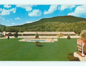 Unused Pre-1980 CANDLELIGHT MOTEL & POOL Arlington Vermont VT u5768