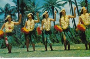 Hawaii Hawaiian Hula Dancers 1954