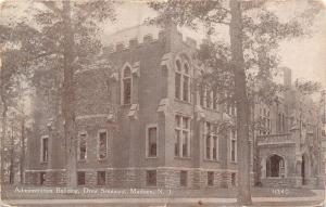Madison New Jersey~Administration Building~Drew Seminary~1912 B&W PC