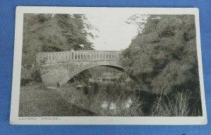 Vintage  Postcard  Lilford Bridge River Nene  Northamptonshire D1D