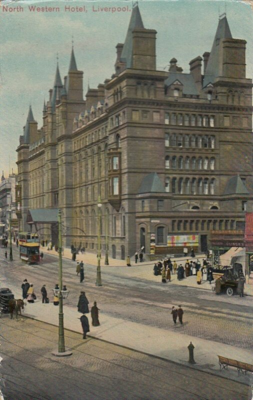 LIVERPOOL , UK , 1913 ; North Western Hotel