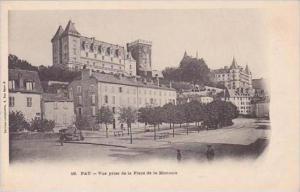 France Pau Vue prise de la Place de la Monnaie