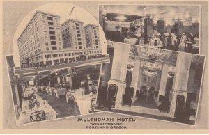 PORTLAND , Oregon , 1926 ; Multnomah Hotel