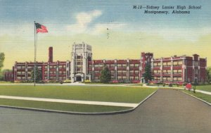 MONTGOMERY, Alabama , 30-40s ; Sidney Lanier High School