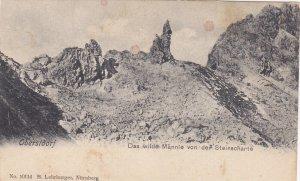 OBERSTDORF, Bavaria, Germany; Das wilde Mannle von der Steinscharte, 00-10s