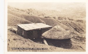 RP: Native Huts - Valley of 1,000 Hills , South Africa , 1920-30s