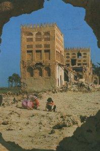 Bahrain Muharraq Pearl Merchants Houses Postcard