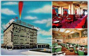 PORTLAND, Oregon OR ~ Roadside BARBARY COAST Hoyt Hotel ~ Postcard