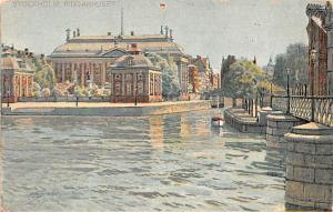 Sweden Old Vintage Antique Post Card Axel Eliassons Konstforlag Stockholm Unused