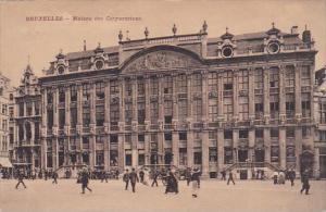 Belgium Brussells Bruxelles Maison Des Corporations