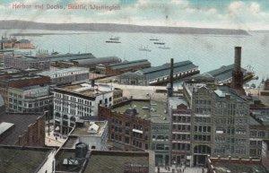 SEATTLE, Washington, 1900-10s; Harbor and Docks