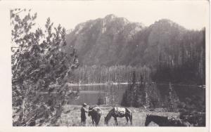 RP: Horse Back Riding , GREENOUGH , Montana , PU-1940
