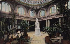 Virginia Richmond Jefferson Hotel The Marble Court 1913