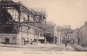 Les Halles, The Market, Saint-Quentin (Aisne), France, 1900-1910s