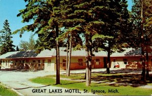 Michigan St Ignace The Great Lakes Motel