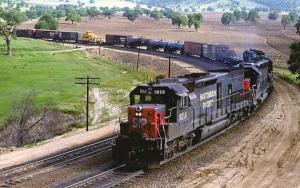 Railroads, Train - Southern Pacific #9216   railroadcards.com