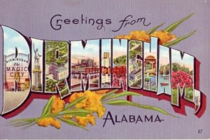 GREETINGS FROM BIRMINGHAM, AL the Pittsburgh of the South