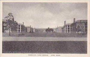 Massachusetts Ayer Barracks Camp Devens Albertype