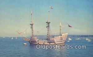 The Mayflower II, Plymouth, Massachusetts, MA USA Sailboat Unused close to pe...