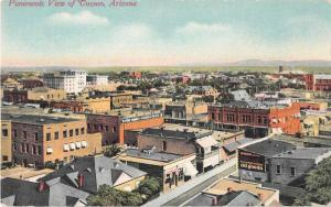 Tucson Arizona Panoramic View Antique Postcard J49827
