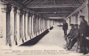 Provins , France , 00-10s ; Abbaye des Cordeliers - Hopital General - Cloitre...