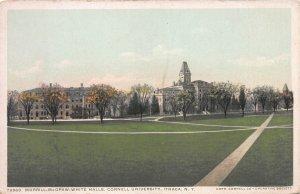 Morrill-McGraw-White Halls, Cornell Univ., Ithaca, N.Y., Early Postcard, Unused