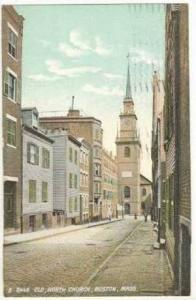 Old, North Church, Boston, Massachusetts, PU-1907