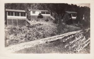 RP: BAIE ST PAUL,Quebec, Canada , 30-40s ; Camps au Neuchatel