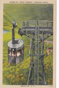 New Hampshire Cannon Mountain Aerial Tramway Franconia Notch 1942
