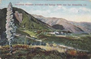 California San Bernardino Arrowhead Mountain Arrowheal Hol Springs Hotel