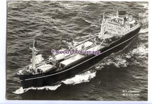 cd0512 - Norwegian Wilhelmsen Line Cargo Ship - Toulouse , built 1962 - postcard