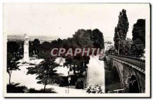 Modern Postcard Laon The funicular