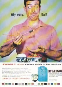Advertising McGregor Rayon Shirts From The Advertising Archives London
