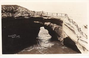 Sunset Cliffs Point Loma California Real Photo