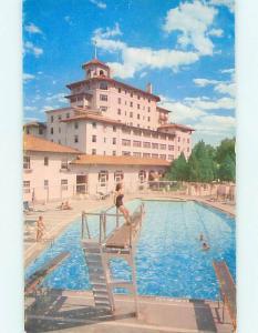 Unused Pre-1980 BROADMOOR HOTEL Colorado Springs Colorado CO Q5826-12