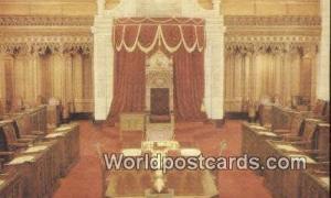 Ottawa Canada, du Canada Senate Chamber Ottawa Senate Chamber