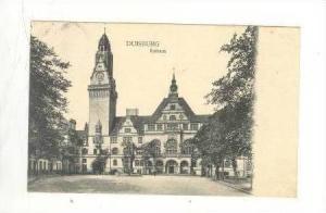 Rathaus, Duisburg, Germany, 1900-1910s