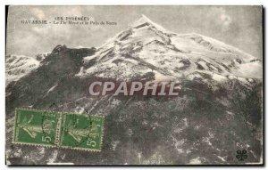 Old Postcard The Pyrenees Gavarnie Peak Menet Sugar loaf