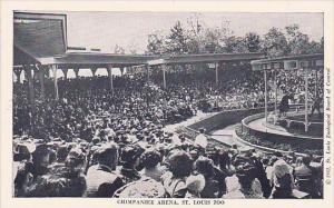 Chimpanzee Arena Saint Louis Zoo Saint Louis Missouri