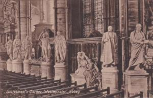 England London Statesmen's Corner Westminster Abbey